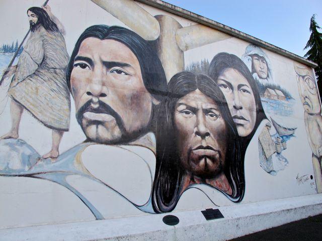 Native Heritage by Paul Ygartua, Chemainus BC, Canada