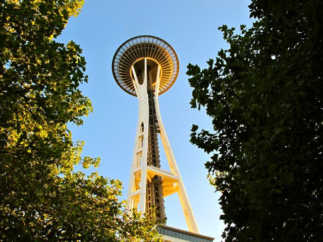The Space Needle in Seattle, WA (USA)