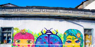 Mural in Santiago, Chile