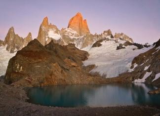 Fitz Roy & Co. at sunrise in El Chaltén, Argentina