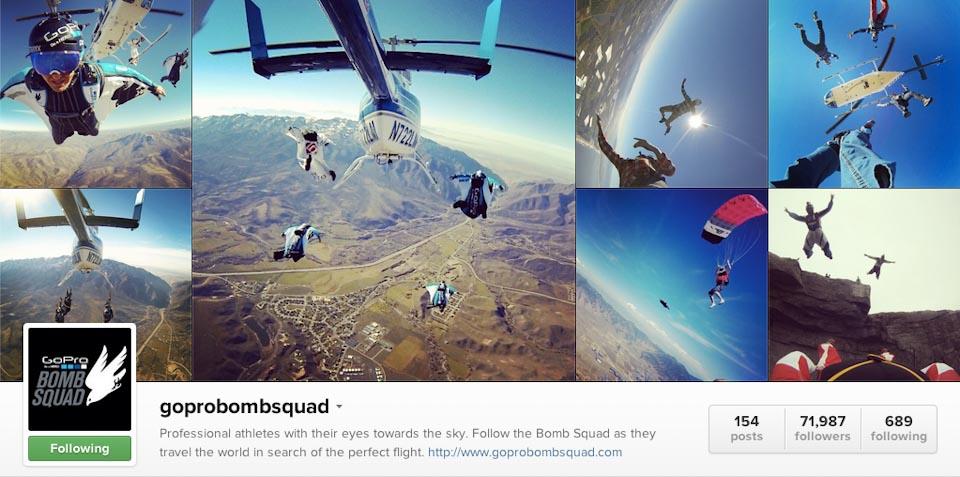 Instagram: @goprobombsquad