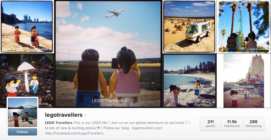 Instagram: @legotravellers