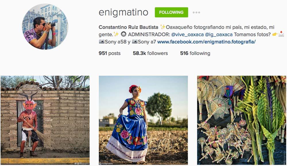 Instagram: @Enigmatino