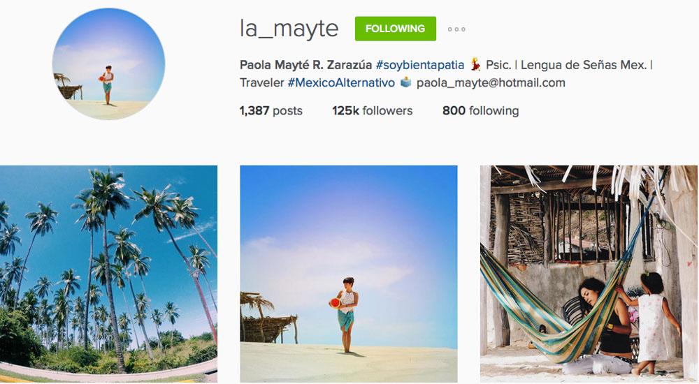 Instagram: @la_mayte
