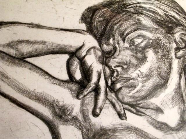 Cabeza y Hombros de Mujer by Lucian Freud