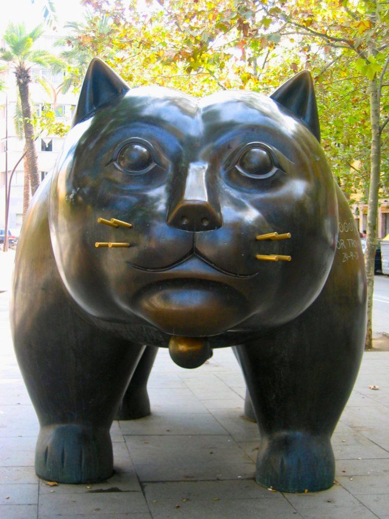 Botero's Cat