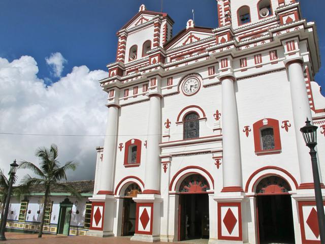 Church in Guatape (Antioquia), Colombia