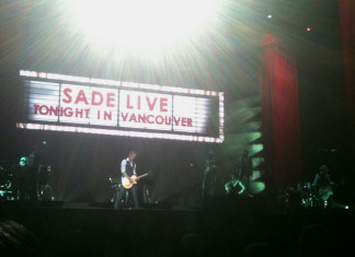 Sade, Live in Vancouver