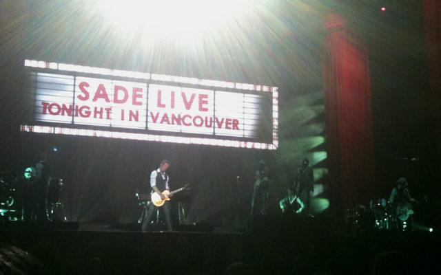 Sade, Live in Vancouver