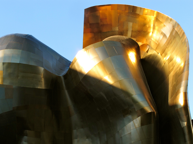 Experience Music Project in Seattle WA, USA