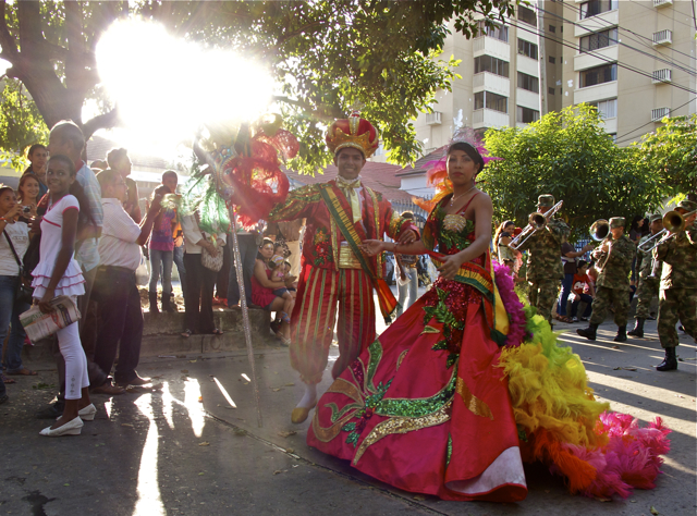 An Early Start To Barranquilla's Carnival Celebrations