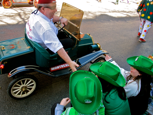 Saint Patrick's Parade in Montreal