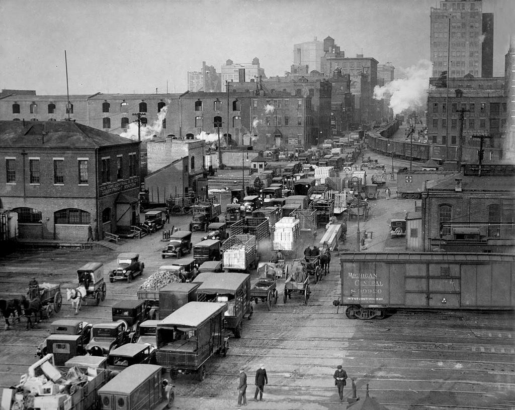 Death Avenue (AKA 10th Avenue), New York City 1930s