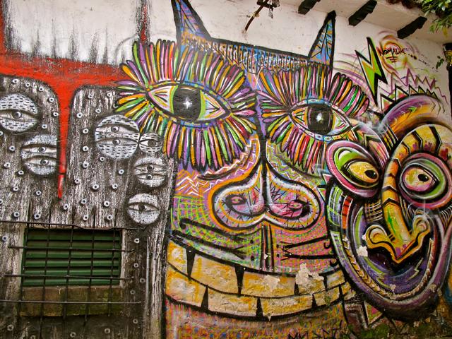 Street Art in Bogota (Colombia)