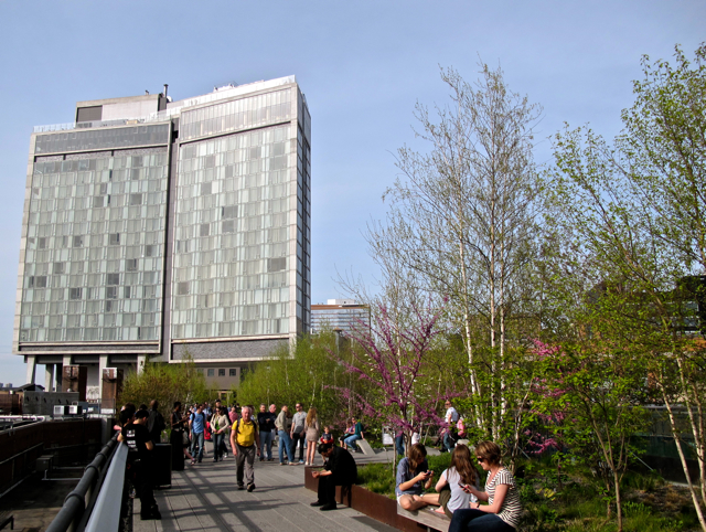 The High Line in New York City, U.S.A