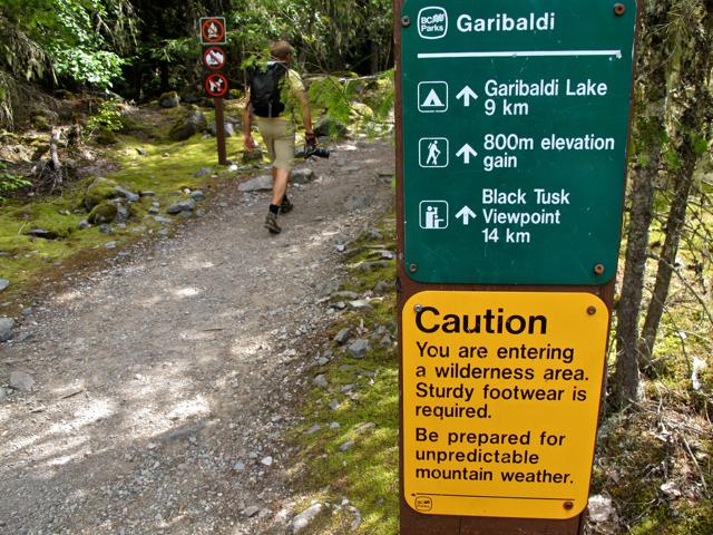 Hike near Whistler: Garibaldi Lake