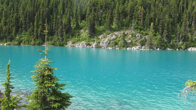 Lago Garibaldi Columbia Británica (Canadá)