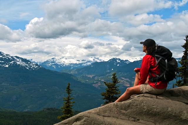 Hiking in Garibaldi Provincial Park, British Columbia (Canada)