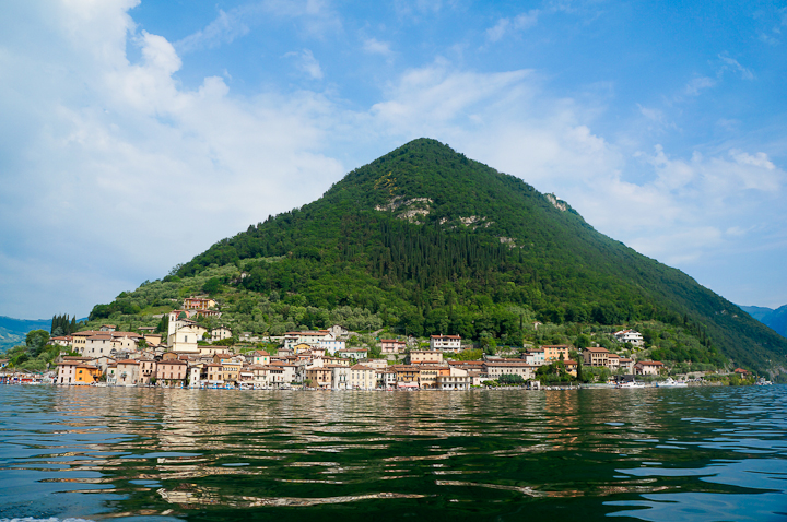 Monte Isola in Lake Iseo, Brescia (Italy)