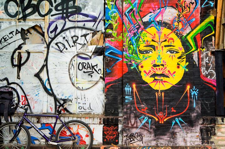 Arte Urbano en Berlín: StinkFish