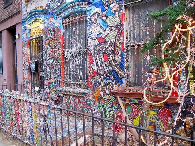 Mosaic House in Brooklyn, New York