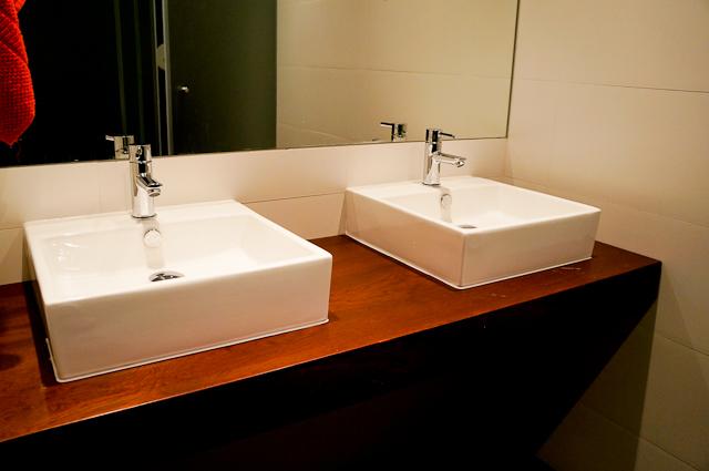 Bathroom at the Stay Inn Lisbon Hostel