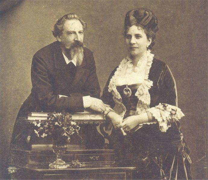 King Ferdinand II and Elise Hensler