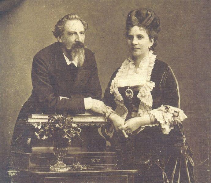 El Rey Ferdinand II y Elise Hensler
