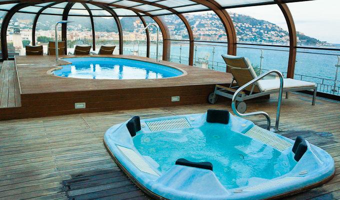 The spa at Hotel Terraza