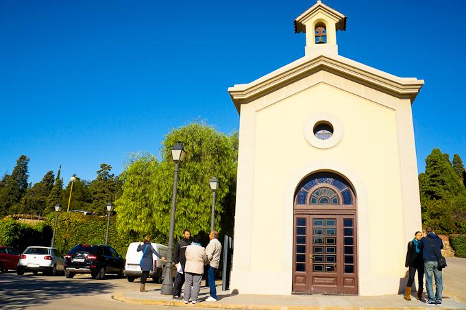 Chapel at Montjuic's Cemetery