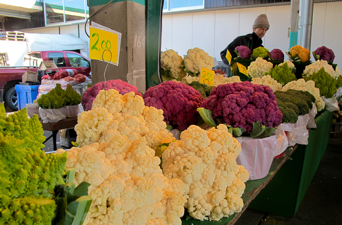 Shopping at the Jean Talon Market in Montreal