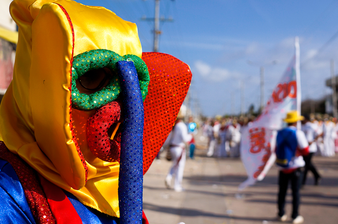 Shaking it at Carnival in Barranquilla