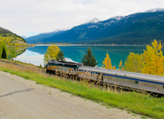 Train ride across Canada