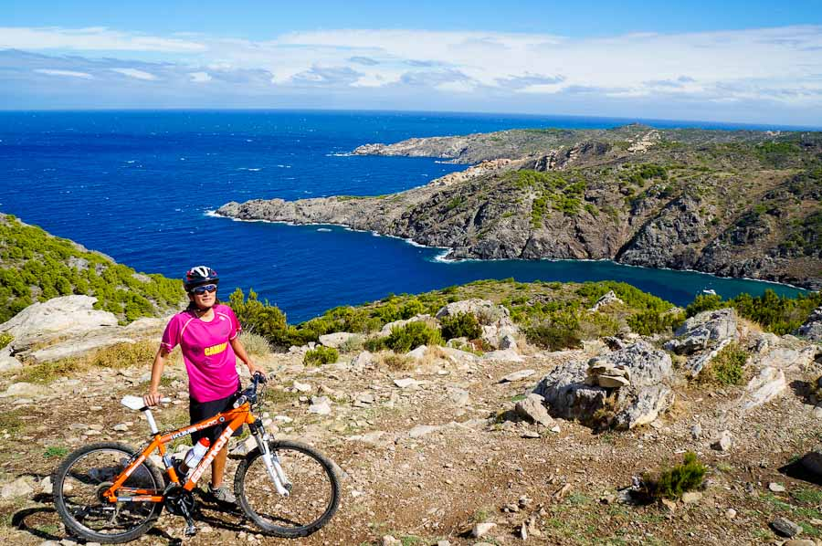 Cycling in Costa Brava, Spain