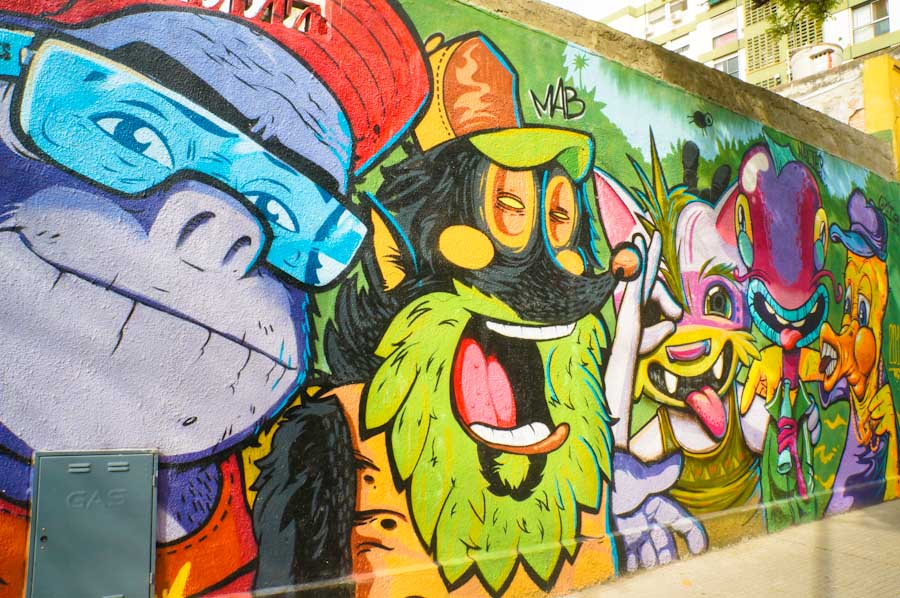 Searching for Street Art in Buenos Aires · nomadbiba