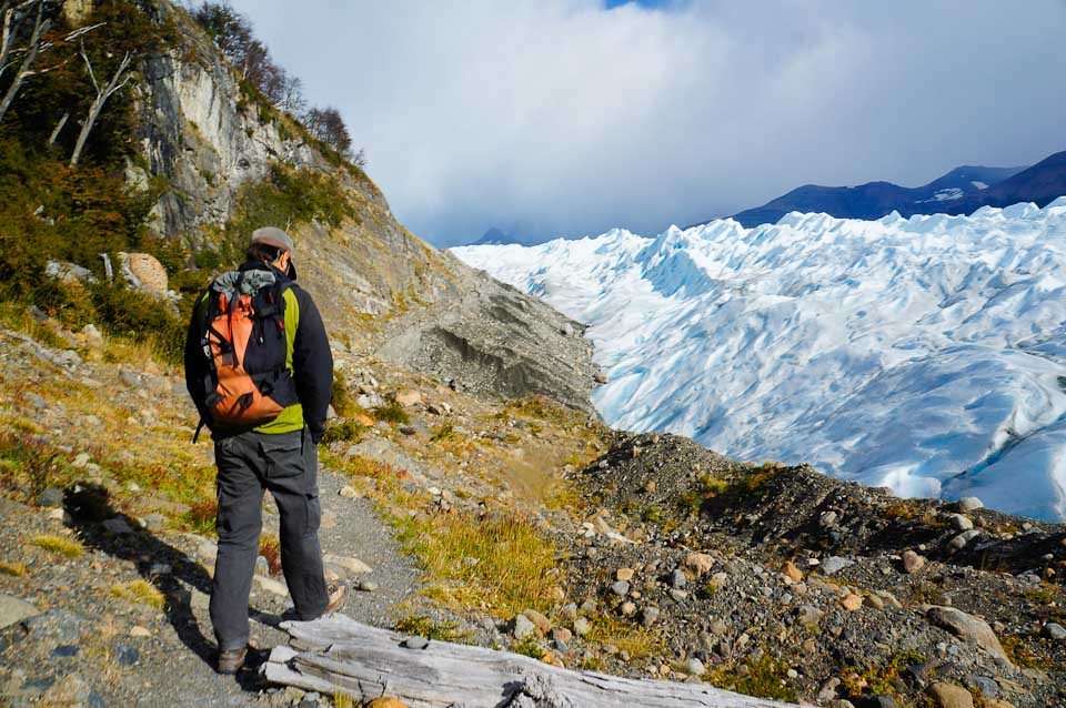 Hiking to Perito Moreno in Argentina
