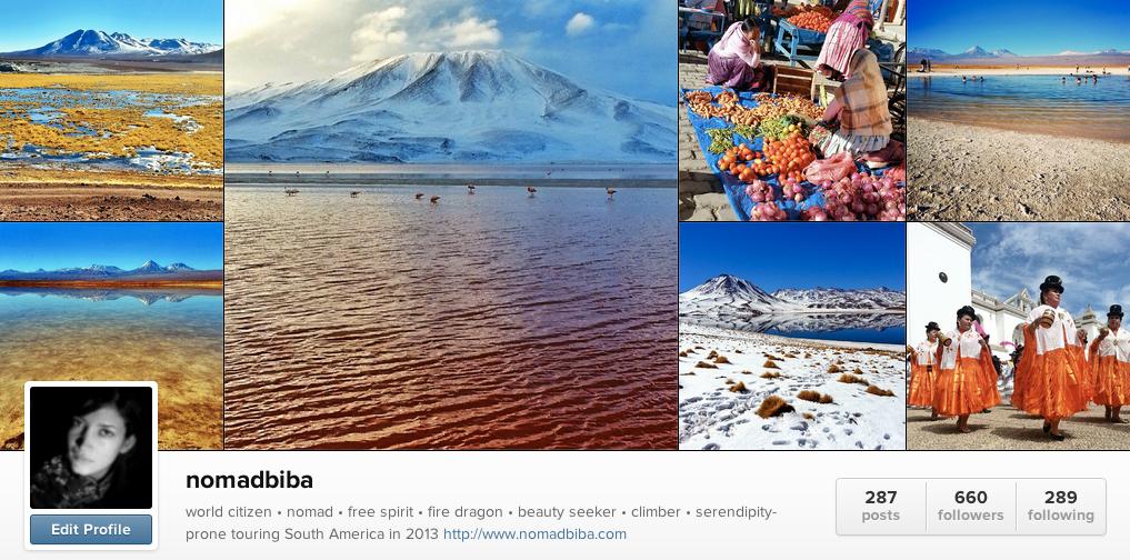 nomadbiba on Instagram