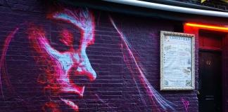 David Walker mural in London, UK