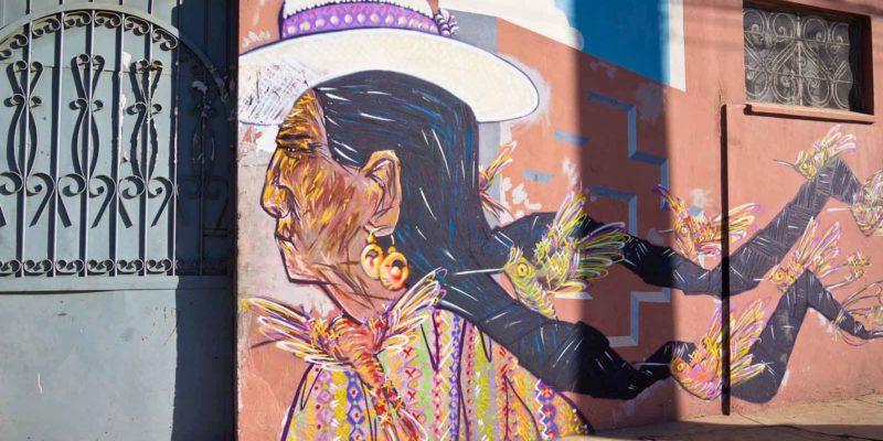 Brigada Negotropica and Charquipunk street art in Cochabamba, Bolivia