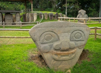 Parque Arqueológico de San Agustín in Colombia