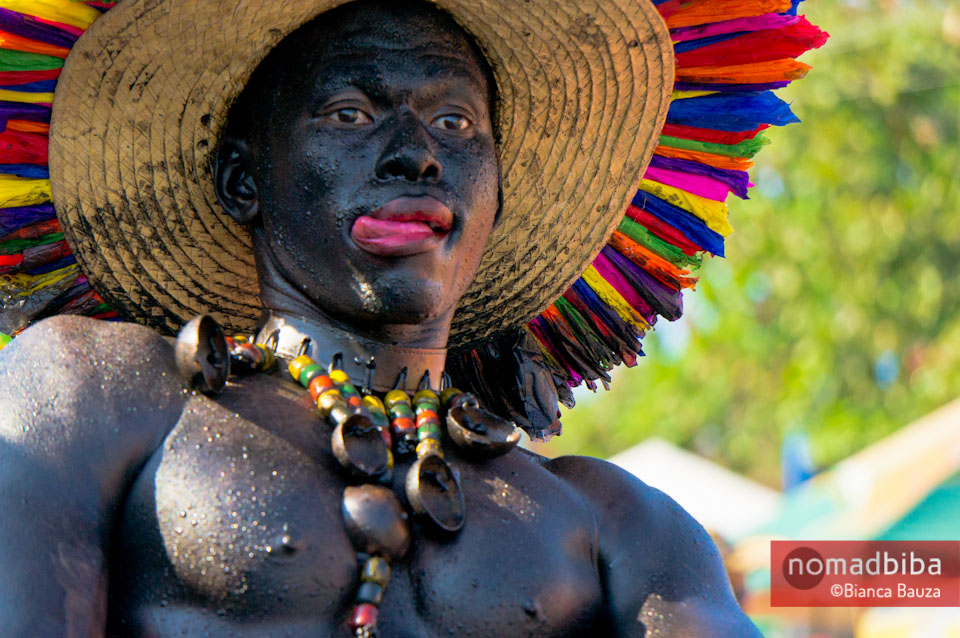 Son de negro at carnival in Barranquilla, Colombia