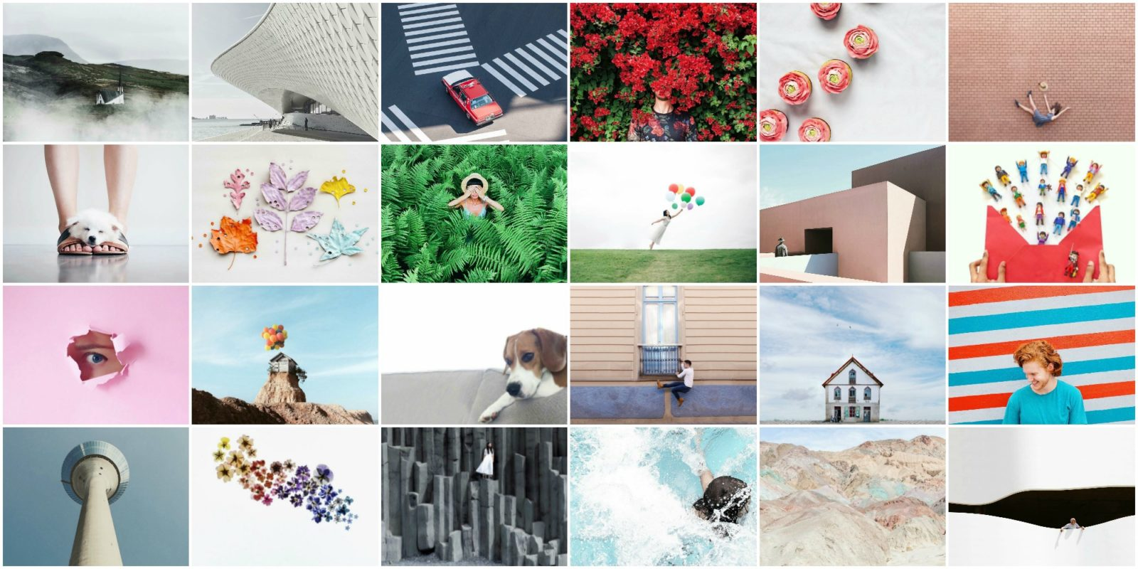 24 inspiring minimalist instagram accounts you should for Minimal art instagram