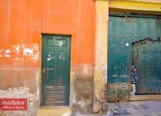 The streets of Potosi, Bolivia