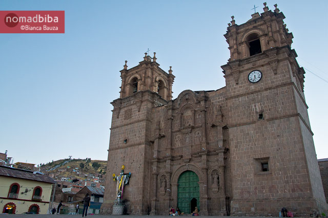 Cathedral in Puno, Peru