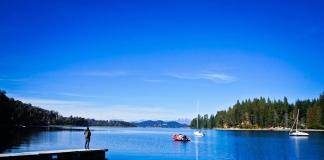 Lake view near Bariloche, Argentina