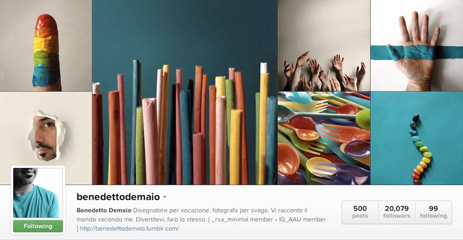 Instagram: @benedettodemaio