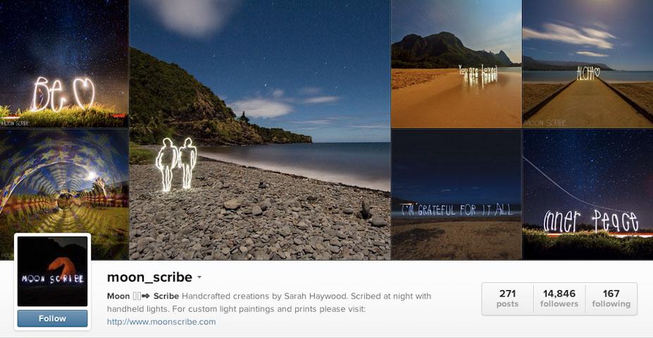 Instagram: @moon_scribe