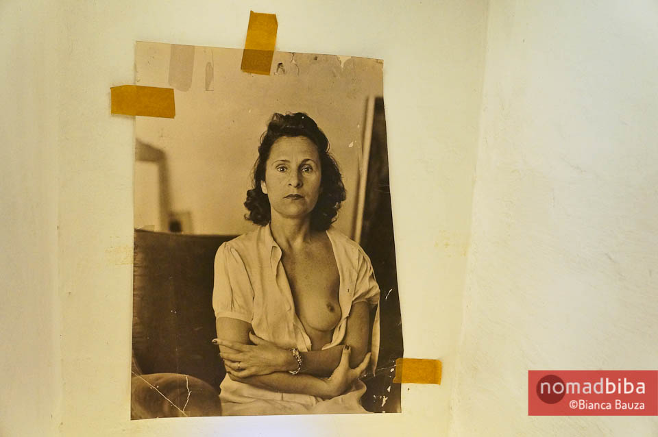 A portrait of Gala in the Casa Museu Salvador Dali
