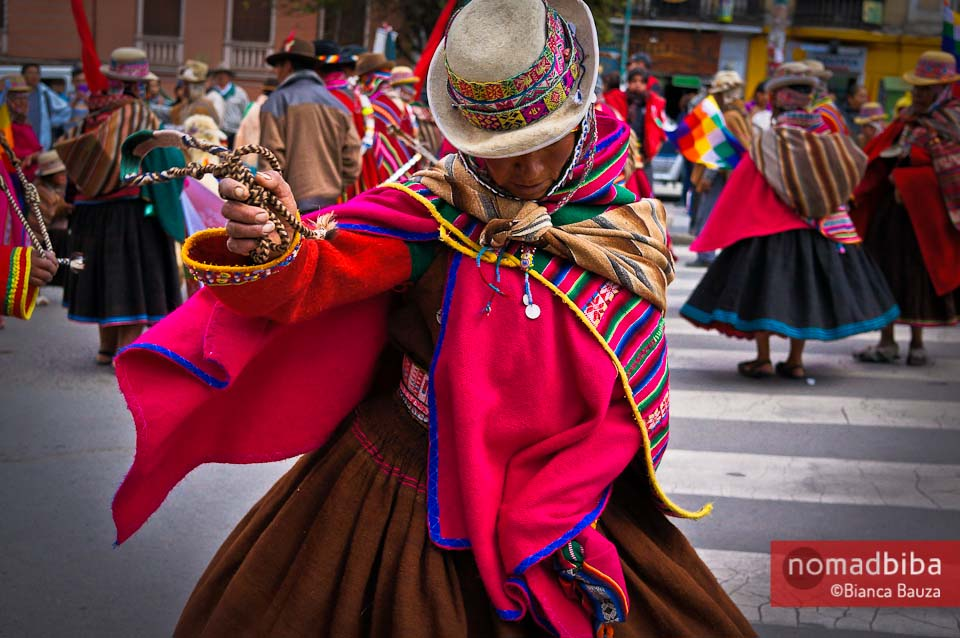 Third Festival of Folk Music & Dances in La Paz, Bolivia