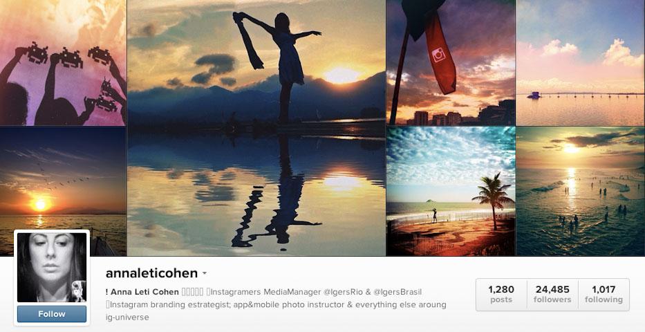 Instagram: @annaleticohen